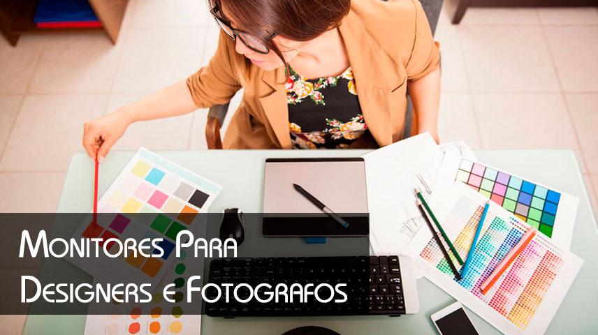 monitores para fotografos e designers