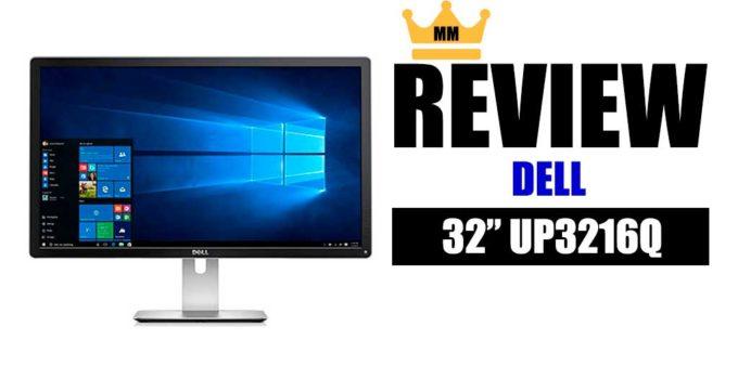 Dell UltraSharp UP3216Q analise