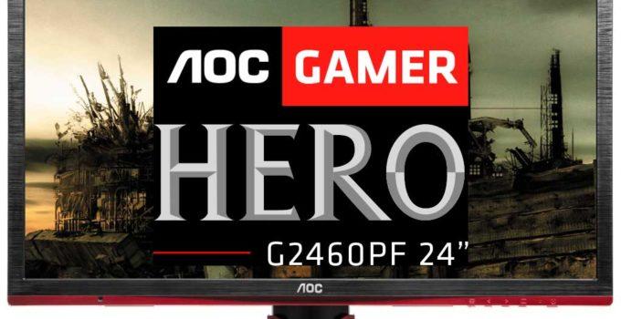 aoc gamer hero g2460 avaliacao