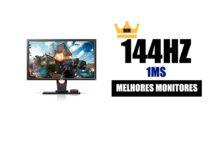 melhor monitor 144hz 1ms