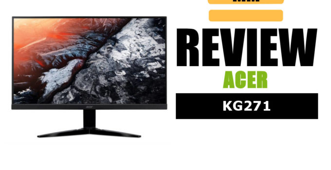 review monitor acer kg271