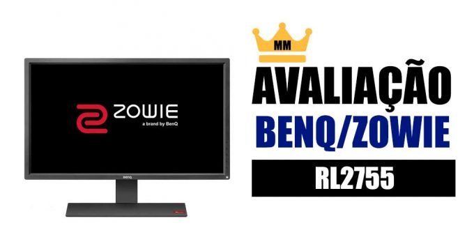 BenQ Zowie RL2755 avaliacao