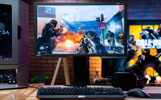 setup gamer com monitor XL2411P