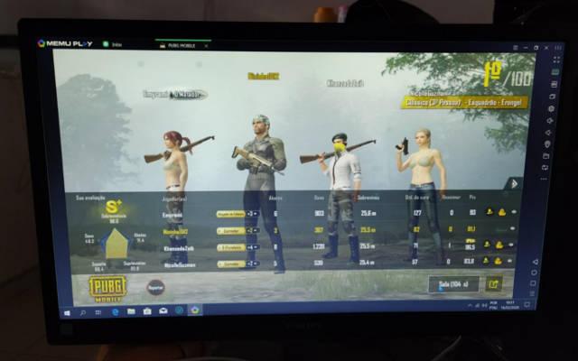 qualidade de imagem desse monitor