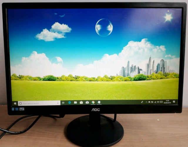 qualidade de imagem do monitor