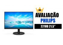 avaliacao philips 221v8 monitor