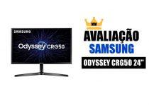 avaliação monitor samsung odyssey cgr50